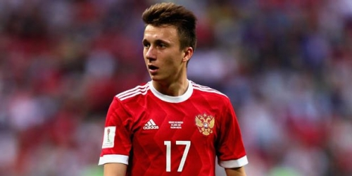 Aleksandr Golovin, la primera estrella que se ha revalorizado en el Mundial de Rusia 2018