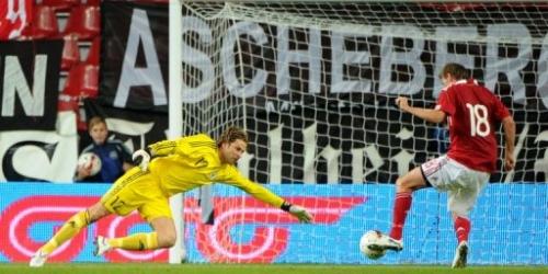 Alemania, sin sus estrellas, empata 2-2 con Dinamarca