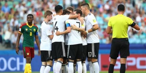 (VIDEO) Alemania le ganó a Camerún: en semifinales se enfrentará a México