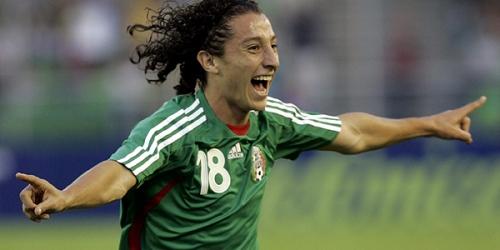 Andrés Guardado se lesionó y podría perderse el Mundial