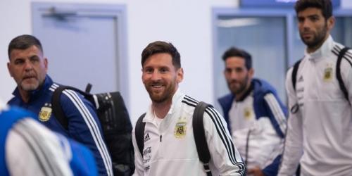 Argentina aterrizó en Rusia