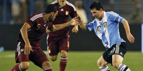 Argentina derrotó a Venezuela en partido amistoso