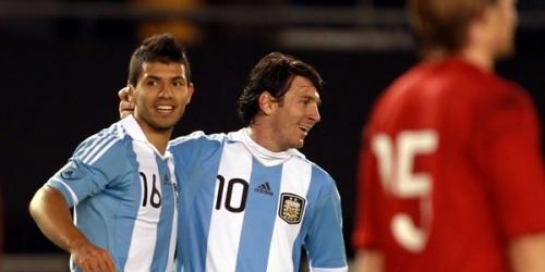 Argentina golea a Albania en ensayo para la Copa América