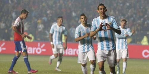 Argentina goleó a Paraguay y jugará la final (6-1)