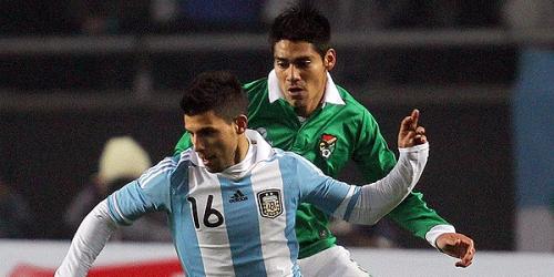 Argentina empató con Bolivia en el partido inaugural