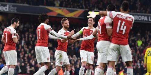 Arsenal da la vuelta al marcador en casa y accede a la siguiente etapa de la Europa League