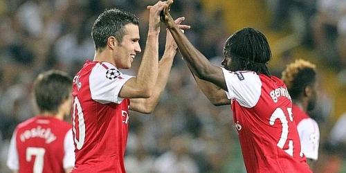 Arsenal y Olympique Lyon entraron a la fase de grupos