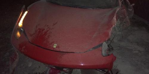 Arturo Vidal sufrío supuesto accidente automovilístico