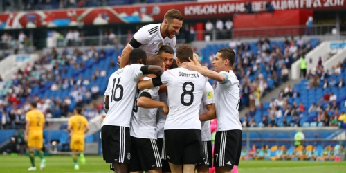 (VIDEO) Copa Confederaciones, Alemania venció 3-2 a Australia en el Grupo B