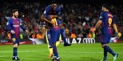 Barcelona aumenta su récord histórico en la liga