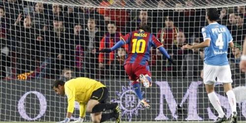 Barcelona casi en la final de la Copa del Rey tras golear