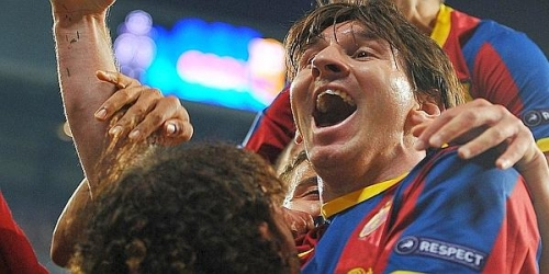 Barcelona, con doblete de Messi, derrota al Real Madrid