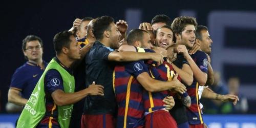Barcelona ganó la Supercopa de Europa (VIDEO)