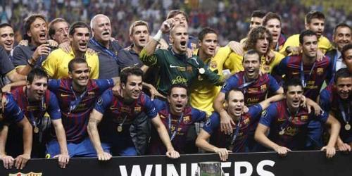Barcelona es campeón de la Supercopa de Europa