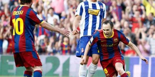 Barcelona está a un punto del título de la Liga española