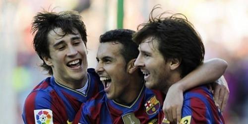 Barcelona se proclamó campeón de la Liga española
