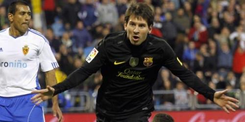 Barcelona se sobrepone y golea a un impetuoso Zaragoza