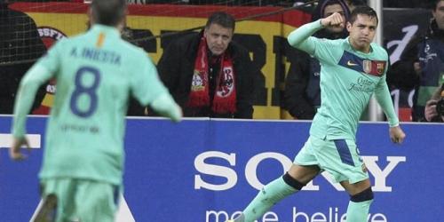 Barcelona y Lyon tomaron ventaja en los octavos