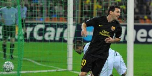 Barcelona y Marsella golearon en la Champions League