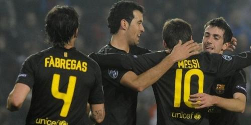 Barcelona y Milan son los primeros clasificados a octavos