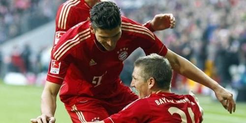 Bayern Múnich ganó y sigue liderando la Bundesliga