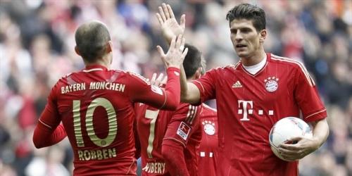 Bayern Múnich goleo y sigue al asecho en la Bundesliga