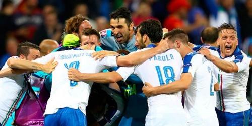 (VIDEO) Eurocopa, Italia le ganó 2-0 a la favorita Bélgica