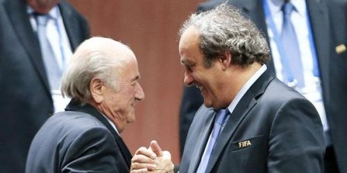 Blatter y Platini suspendidos por 8 años