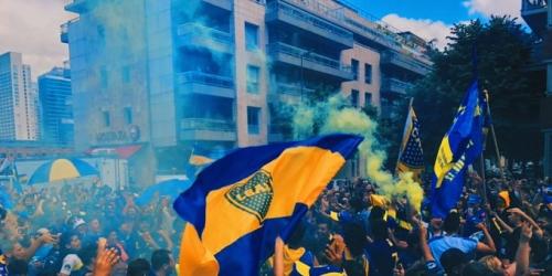 Boca Juniors ya está en Madrid