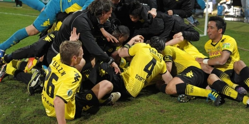 Borussia Dortmund accedió agónicamente a la final