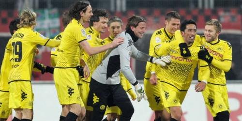 Borussia Dortmund comanda la Bundesliga