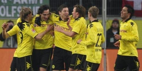 Borussia Dortmund sigue inalcanzable en la Bundesliga