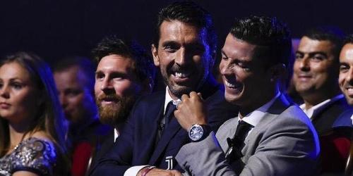 """Buffon: """"Messi es más completo que Ronaldo; tiene mayor calidad técnica"""""""