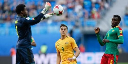 (VIDEO) Camerún y Australia empataron 1-1 en la Copa Confederaciones