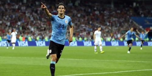 Cavani no estará presente en los cuartos de final frente a Francia