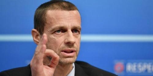 Čeferin quiere continuar al frente de la UEFA