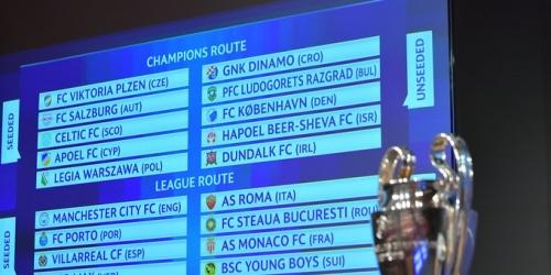 Champions League, así quedaron los emparejamientos de los Play-Off