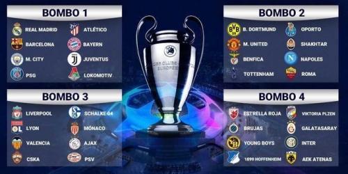 Champions League ya tienen sus 32 equipos y se prepara para el sorteo