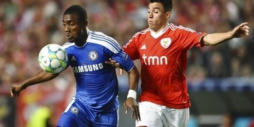 Chelsea venció a Benfica en la Champions League