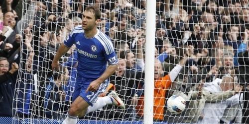 Chelsea venció sobre el final a Wigan