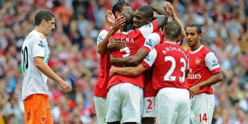 Chelsea y Arsenal propinan sendas palizas de 6-0