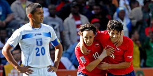 Chile arranca el Mundial con una victoria sobre Honduras