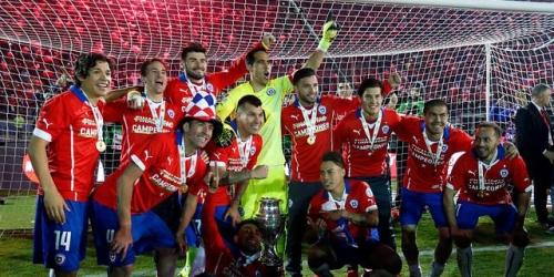 Chile es el nuevo campeón de América!