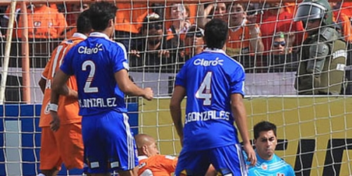 Cobreloa y 'U' de Chile empataron en la final de ida