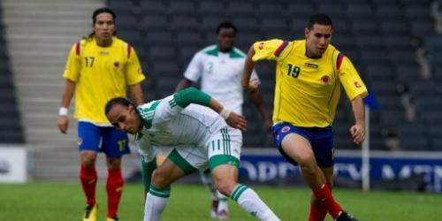 Colombia frena 1-1 a Nigeria en amistoso premundialista
