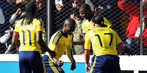 Colombia ganó a Costa Rica y lidera el Grupo A