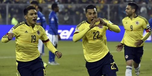 Colombia venció a Brasil con gol de Murillo (1-0)