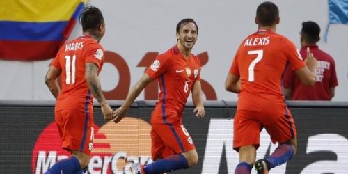 (VIDEO) Copa América, Chile superó a Colombia y será finalista por segunda edición consecutiva