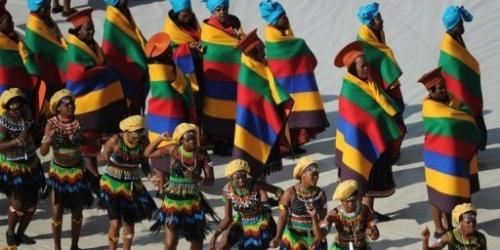 Comienza el Mundial Sudáfrica 2010 en Johannesburgo