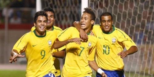Con dos tantos de Neymar, Brasil goleó 5-1 a Chile